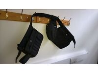 Tool belt navy blue canvas