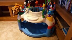 Baby einstein around the world activity saucer. Great condition, fully cleaned and all parts.