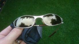 Oakley C Wire 2.0 Platinum Gold Sunglasses - Great Birthday, Christmas, Wedding Present