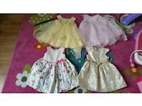 Girl dresses size 18-24 months