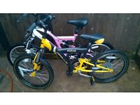 girls and boys mountain bikes and girls and boys bmx bikes with 20 inch size wheels