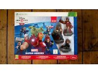 XBOX 360 Disney Infinity 2.0 Super Heroes Starter Pack [Complete]