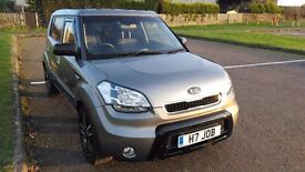 "KIA SOUL ""TEMPEST"" 1.6 Full History Very Low Miles ""60"" 1st registered Sept 2010"