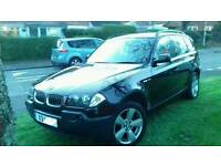 BMW X3 Sport 2.5 Auto with private X3 plate
