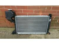 MERCEDES SPRINTER RADIATOR NEW, used only 2 days