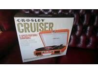 Crosley Cruiser delux portable turntable