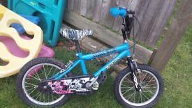 Kids bicycle hot wheels.