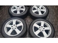 """17"""" 5 Spoke ZCW Alloys with matched 215/60/17 Nokian M+S tyres"""