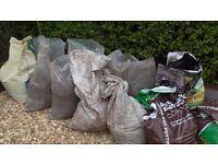 Top soil loam top quality farmland top soil 12 large sacks £1 per bag Downend, Bristol