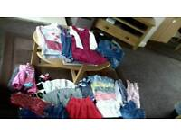 Girls clothes bundle age 5-6 years excellent condition