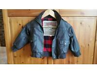 Novelti brown children jacket 3y