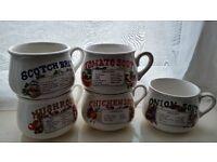 Vintage Kitch Soup Mugs