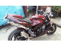 Kawasaki zxr 750j2