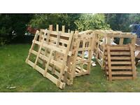 Wood crates available for collection in Cheadle