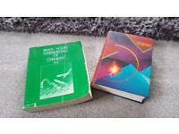 2 chemistry books used