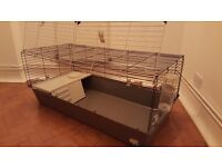 Large indoor rabbit/ guinea pig cage and carrier