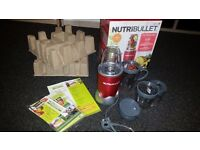 NutriBullet 600W Juicer Blender Nutrition Extractor-12 PCS SET new