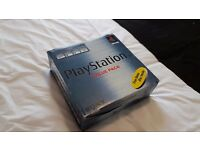 PLAYSTATION 1 BOXED RETRO CONSOLE
