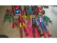 Avengers cars and figures for sale