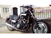 Yamaha Vmax 1200 cc full power for sale . Lovely condition with very low miles.