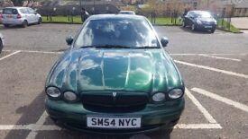 jaguar x-type. full eyar mot. car no rust do dent. very clean and good car. diesel2l manual