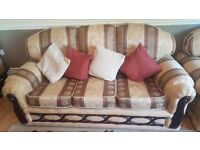 Sofa for sale 3 seater + 2 Armchairs