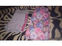 Adidas Shorts plus Floral Skirt UK 6-8