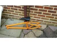 Wethepeople Bmx Bike Frame Only Orange