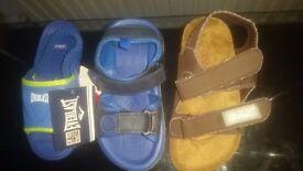 Boy's sandles size 8
