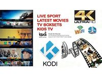 Android 4K Smart Tv Box with kodi