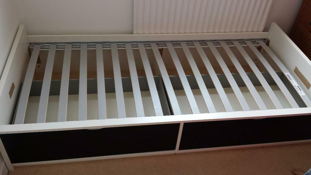 Ikea Leksvik Kinderbett Nachfolger ~ Ikea Flaxa single bed with 2 storage drawers  Excellent condition
