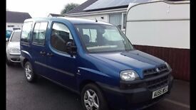 Fiat Doblo Spares & Repairs with additional engine