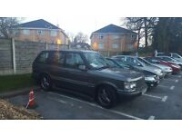 2001 RANGE ROVER WESTMINSTER EDITION DIESEL 2.5 SAT NAV LEATHERS RARE * LAND ROVER MPV JEEP x5
