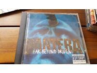 Pantera - Far Beyond Driven - ALBUM - £3
