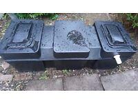 Polytank loft cold water tank 42 gallon (uk) 1185*503*503
