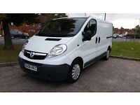 Vivaro 2700 CDTI SWB 2008 6 Speed 92k ms 1 yr MOT NO VAT Fully Serviced Ex Cond Trafic Primastar