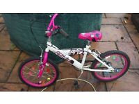 childrens bike for sale in good condition only reason selling is they had new bikes for xmas