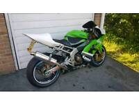Kawasaki ninja 636 12 months MOT race bike