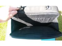 Laptop / Tablet carry / shoulder bag size 15 inch long and 12 inch hight in Black