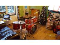 Pearl EXPORT Massive 7 drum kit with all ORIGINAL hardware.