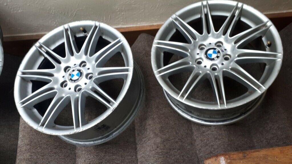 Used Rims For Sale >> 4 Used Genuine Bmw Rims Available For Quick Sale In Reigate Surrey Gumtree