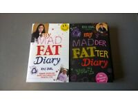 My mad fat diary and My madder fatter diary books