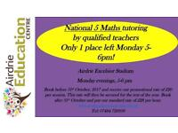 Nat 5 English & Maths tutoring by qualified subject teachers