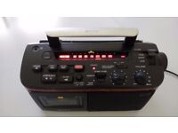 Vintage Sony Portable FM/MW/LW Radio Cassette Recorder/Player CFM-A50