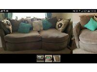 Scs large 2 piece Sofa