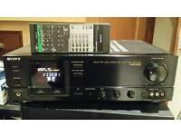 Amplifier av integrated sony ta av570