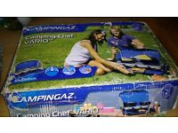 Camping stove and barbeque