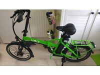 Limited Edition Green Volt Metro Electric Bicycle, 300 ODO, 1 year old