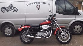 SOLD FANTASTIC 1999 HARLEY DAVIDSON XL1200S SPORT STAGE 1 AND EXTRAS