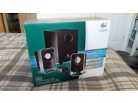 Logitech LS21 - 2.1 Stereo Speakers for PC, Laptop, Smartphone and more.